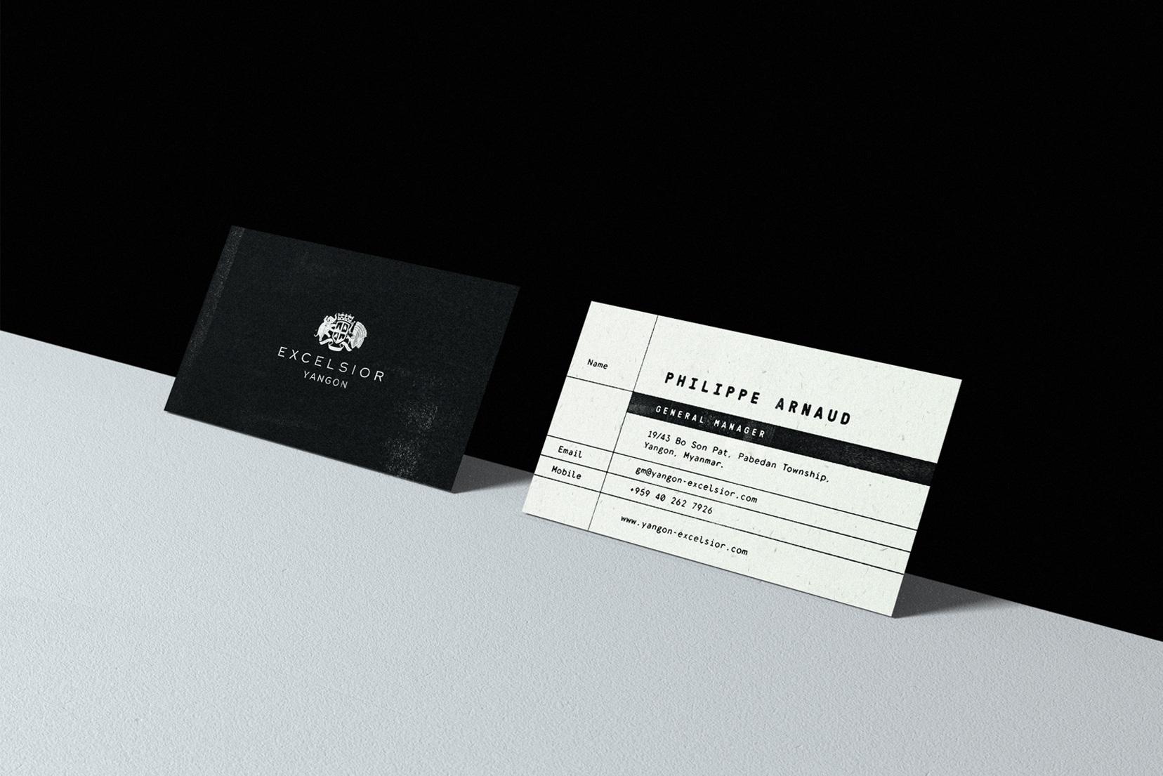 brand business card