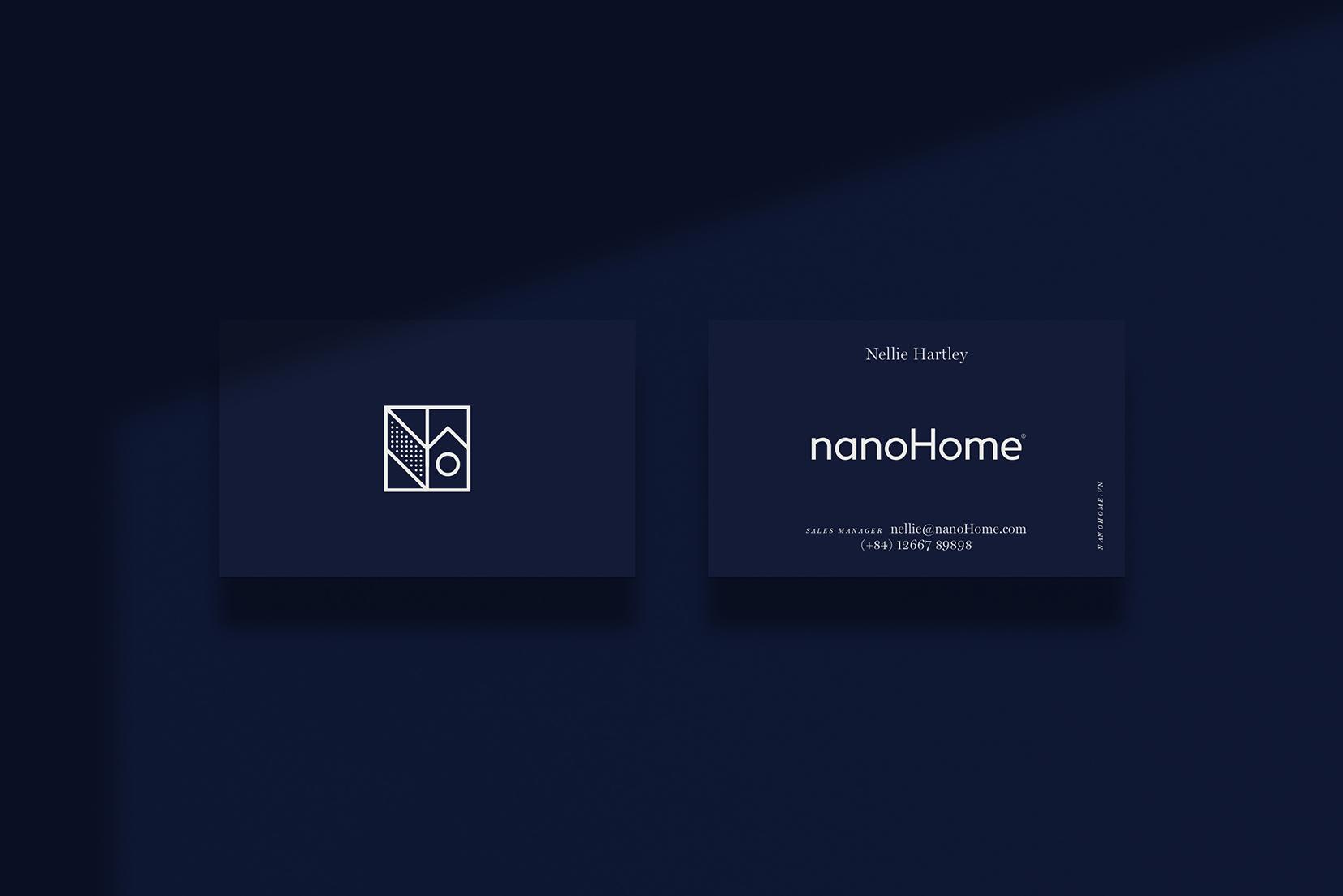 nanoHome business card